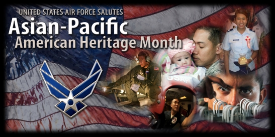 Asian American and Pacific Islanders are servicemembers from more than 30 countries and ethnic groups who speak more than 100 different languages. Military members across the globe focus on building leadership by embracing cultural values during the month of May. (U.S. Air Force photo illustration/Senior Airman Benjamin Stratton)