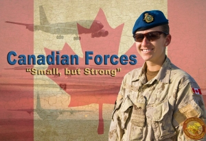 Royal Canadian Air Force Capt. Alexandre Brault poses for a photo at the 379th Air Expeditionary Wing in Southwest Asia, July 8, 2013. Brault is the RCAF 71st Expeditionary Air Control Squadron weapons director deployed from Bagotville, Quebec, Canada. (U.S. Air Force photo illustration/Senior Airman Benjamin Stratton)